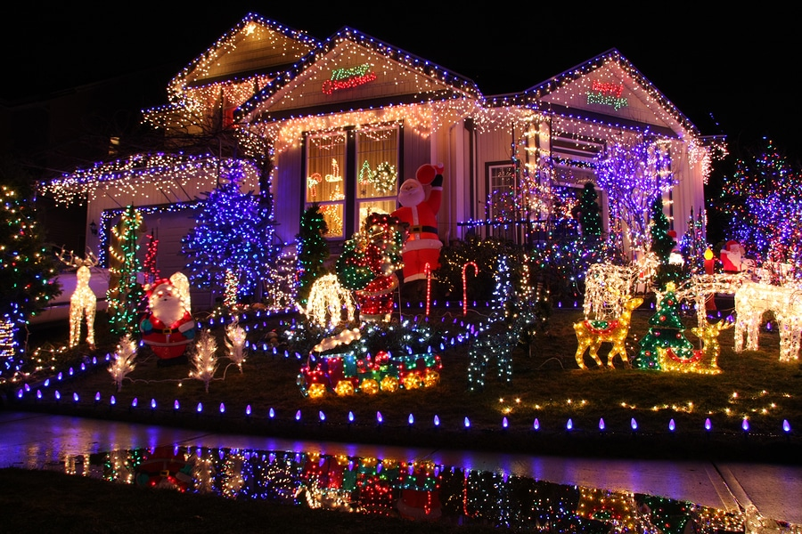 are your christmas lights safe